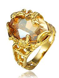 Vintage Design Classical 18K Gold Plating Statement for Women