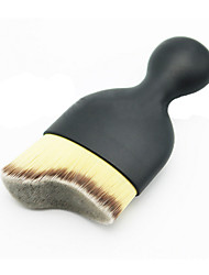 1 Foundation Brush Nylon Limits bacteria / Portable Plastic Face Others