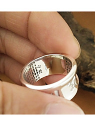 Men's Ring Love Silver Jewelry For Casual Sports
