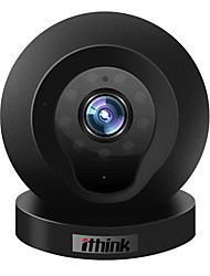 1.0 MP Mini Interior with Dia Noite 64GB (32GB enough)(Dia Noite / Detector de Movimento / Dual Stream / Acesso Remoto)