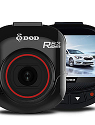 "DOD RS2PLUS DODTIOTECH A8 1080p DVR Car 2.0 Polegadas Tela 5MP CMOS,1/3"" traço Cam"