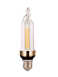 YWXLight® Super Bright LED Lighting Energy-saving New LED Candle Bulb LED Pull E27 led Bulb Lamp 4W 300-400LM AC 220V
