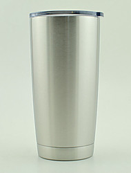 Hot Bilayer Stainless Steel Insulation Cup 20 OZ Cups Cars Beer Mug Large Capacity Mug Tumblerful
