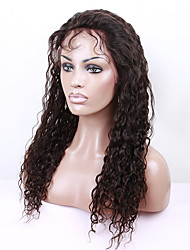 Lace Front Wig 130% Density Front Lace Human Hair Wigs For Black Women 7A Brazilian Wig Deep Curly Lace Front Human Hair Wigs with Baby Hair