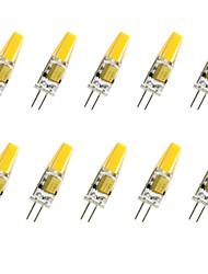 1.5w g4 llevó la mazorca de la mazorca de las mazorcas de la mazorca 100-150lm blanco fresco blanco caliente ac / dc 12 v 10 PC