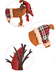 Christmas Decorations Elk Textile