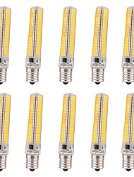 15W E17 LED лампы типа Корн T 136 SMD 5730 1200-1400 lm Тёплый белый / Холодный белый Регулируемая / Декоративная V 10 шт.