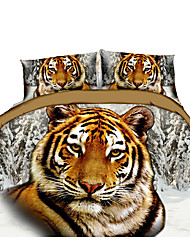 3D Duvet Cover Set 1pc Duvet Cover 1pc Bed Sheet Set  Pillowcase Bedding Set