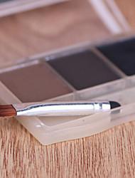 1 Wimpernbürste Nylon Pinsel Reise / umweltfreundlich Metall Auge Andere
