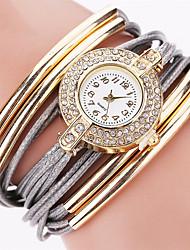 Fashion Brand Quartz Watch Women Dress Leather Wristwatches Popular Casual Watches Gold Jewelry Bracelet Clock