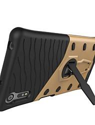 Pour Avec Support / Ultrafine Coque Coque Arrière Coque Armure Dur Polycarbonate pour Sony Sony Xperia E5