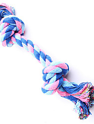 Dog Pet Toys Chew Toy Rope Random Color Textile