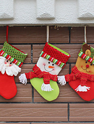 3Cover) (Different Styles) Newfangled  House Ornament Christmas Decorations  Christmas Stocking
