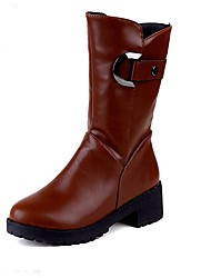 Women's Shoes Libo New Style Hot Sale Casual / Party / Outdoors Comfort Black / Brown Fashion Boots