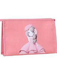 nouveau sac cosmétique korean mignon de bande dessinée grand sac de stockage des capacités des femmes.