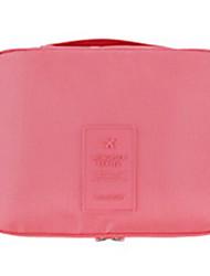 Aufbewahrung für Make-Up Kosmetik Tasche / Aufbewahrung für Make-Up Nylon einfarbig 21*13*5 Rosa