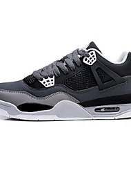 Men's Athletic Shoes Comfort Tulle Leatherette Casual Black Blue Gray Walking