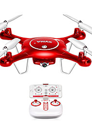 Drone X5UW 4CH 6 AxisLED Lighting One Key To Auto-Return Auto-Takeoff Headless Mode 360°Rolling Access Real-Time Footage Hover Low