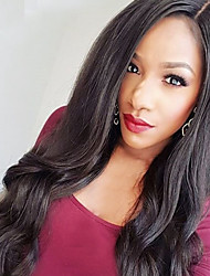 Promotion Womens Synthetic Lace Front Wig Heat Resistant Synthetic Hair Wigs Long Wavy Wig For Black Women
