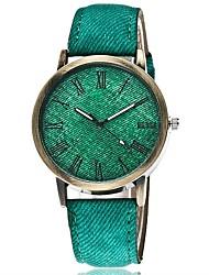 New Fashion Jeans Casual Women Wristwatch Leather Strap Bracelet Watches Relogio Feminino