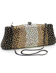Women's Luxuriant Crystal Clutch Evening Bag