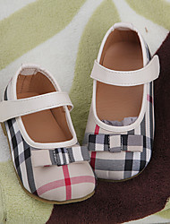 Girl's Flats Comfort Fabric Casual Pink Almond