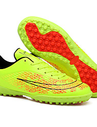 Boy's Athletic Shoes Spring Fall Comfort PU Casual Flat Heel Lace-up Green Gold Orange Soccer
