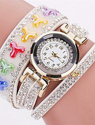 Xu™ Women's Fashion Watch Wrist watch Quartz PU Band Vintage Charm Casual Black White Blue Red Brown Green Pink Navy Ivory
