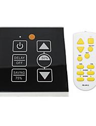 com um atraso de memória do tipo botão stepless dimmer controle remoto infravermelho 86 modelo 500wled SCR dimmer