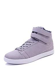 Men's Sneakers Spring Fall Winter Others Comfort Fabric Outdoor Office & Career Casual Flat Heel Black Blue Red Gray