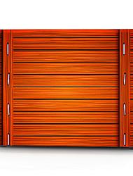"Case for Macbook 13"" Macbook Air 11""/13"" Macbook Pro 13"" MacBook Pro 13"" with Retina display Geometric Pattern Plastic Material Orange Wooden Pattern"