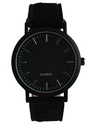 Unisex Modeuhr Quartz / PU Band Bequem Schwarz Marke