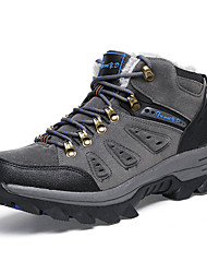 Men's Athletic Shoes Fall / Winter Comfort PU Outdoor / Casual Low Heel Others Green / Gray / Khaki Hiking