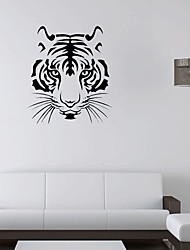 Art Tiger Head Wall Decorated Living Room Bedroom