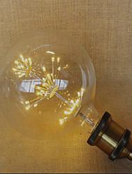 2W E26/E27 Ampoules Globe LED 49 LED Dip 220 lm Jaune Décorative AC 100-240 V 1 pièce
