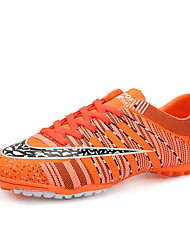 Soccer Shoes Anti-Slip Anti-Shake/Damping Breathable Wearproof Outdoor Low-Top PU Soccer/Football
