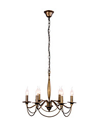 MAX60W Chandelier   Country Painting Feature for Mini Style Metal Bedroom / Dining Room / Study Room/Office