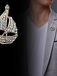 мода алмазов парусная лодка броши