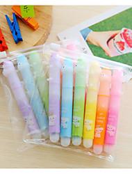 6 couleurs stylo marqueur fluorescent (x6)