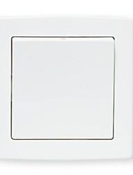 série borda reta tomada interruptor Um interruptor de controle único