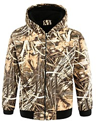 Men Outdoor Sports Camo Coat Hunting Cardigan Casual Hoody Fashion Winter Autumn Fishing Outwear Clothing