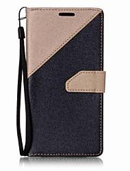 Pour Portefeuille / Porte Carte / Avec Support Coque Coque Intégrale Coque Couleur Pleine Dur Cuir PU pour LG LG K10 / LG K7