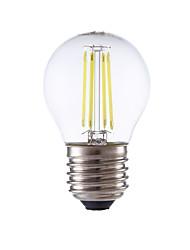 3.5 E26/E27 Ampoules à Filament LED P45 4 COB 350/400 lm Blanc Chaud / Blanc Froid AC 100-240 V 1 pièce