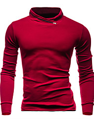 Men's Casual/Daily / Sports Simple / Active Regular HoodiesSolid