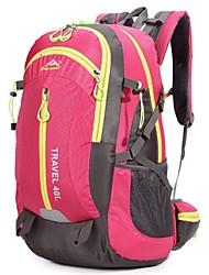 40 L Randonnée pack / Sac de Randonnée / sac à dos Camping & Randonnée / Voyage Extérieur / Sport de détente MultifonctionnelRouge /