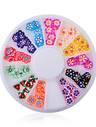 1pcs Manicure Snowflake Jewelry Soft Petals Pottery Turntable