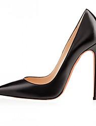 Для женщин Обувь на каблуках Удобная обувь Босоножки Лакированная кожа Микроволокно Весна Лето Осень ЗимаСвадьба Повседневные Для