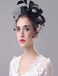 Femme Coton Casque-Mariage / Occasion spéciale Serre-tête 1 Pièce