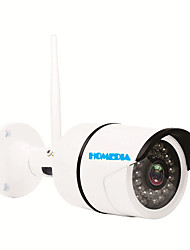 HOMEDIA® Waterproof Full HD 2.0 Mega 1080p 6mm 1/2.7'' CMOS Wifi IP Camera 36Leds IR Night Vision Outdoor Mobile View