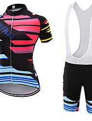 WOLFKEI Summer Cycling Jersey Short Sleeves BIB Shorts Ropa Ciclismo Cycling Clothing Suits #35